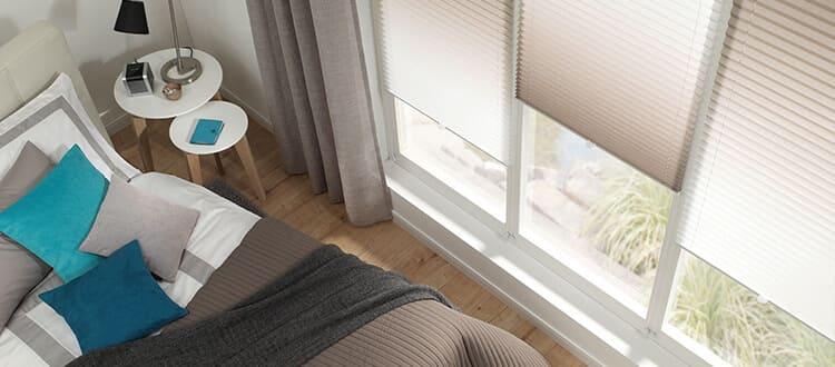 gardinia plissees. Black Bedroom Furniture Sets. Home Design Ideas